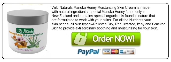 Wild Naturals Manuka Honey Moisturizing Skin cream