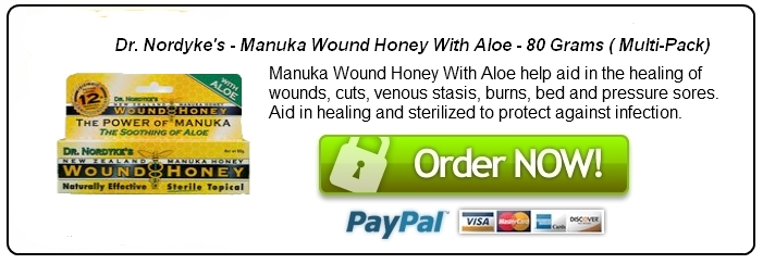 Manuka Honey Used for Wound Healing